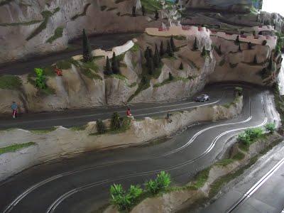 Circuit routier Rocher Moore