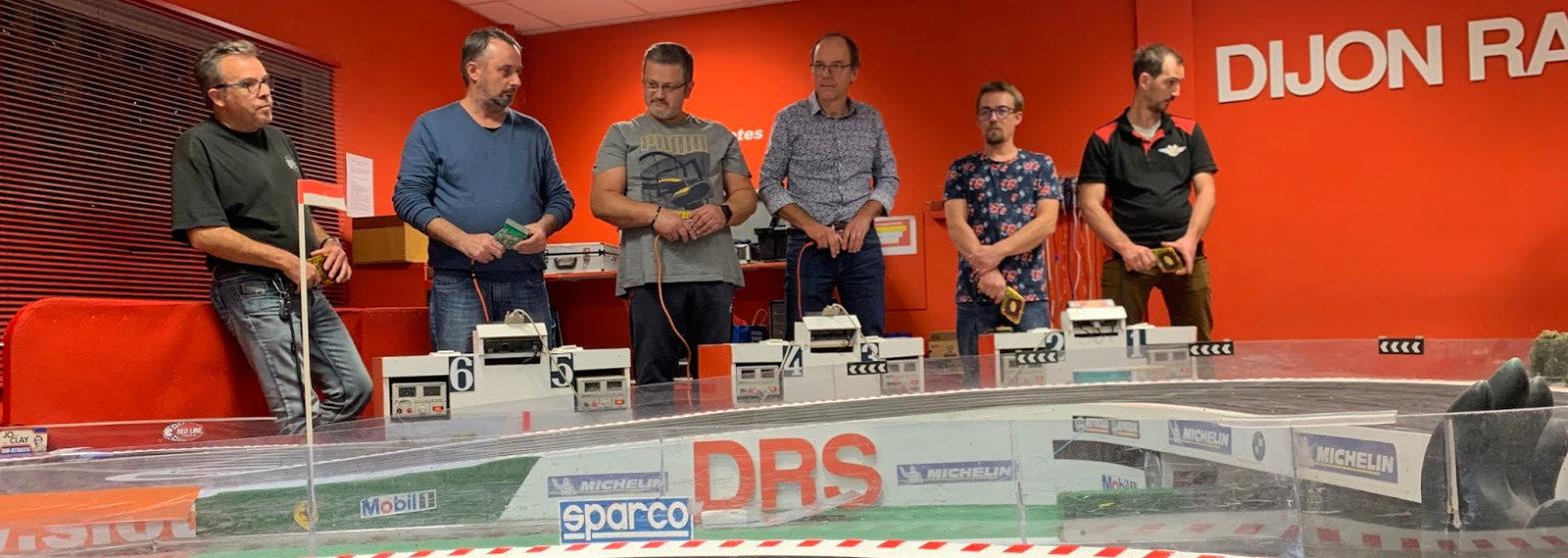 Les pilotes du DRS