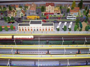 Réseau ferroviaire au 1/87